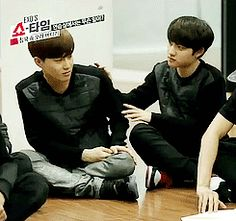 Suho and D.O ^^