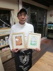 2011年1月12日 みんなの作品【額・鏡・壁飾り】|大阪の木工教室arbre(アルブル)