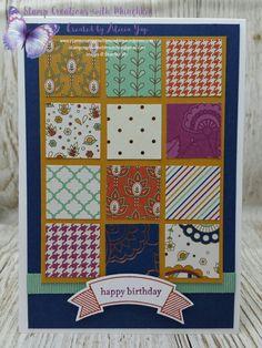 Paisleys & Posies Birthday  #paisleysandposies  #stampinup  #stampinupdemonstrator  #stampcreationswithmunchkin