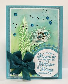 Whisper of Wings Clear Stamp Set and Honeycomb Background Stamp - JustRite Papercraft New February Release Day Two!