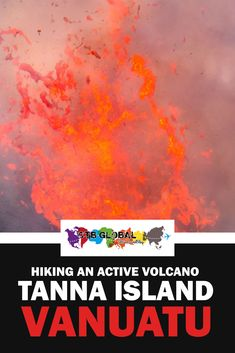 Hiking an active volcano is best done on Tanna island, Vanuatu. This guide explains how to book a day trip to Mt. Yasur and hike this active volcano. Challenging, magnificent and once in a lifetime experience. Fiji Travel, Asia Travel, Travel Inspiration, Travel Ideas, Travel Plan, Travel Advice, Travel Guide, Active Volcano, New Zealand Travel