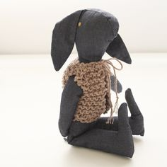 Bunny with knitted vest - Severina Kids