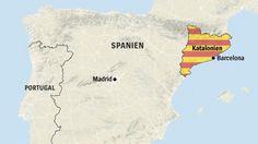 Beim Unabhängigkeitsreferendum in Katalonien haben sich laut Regionalregierung 90 Prozent der Wähler für eine Loslösung von Spanien ausgesprochen. Trotz des harten Polizeieinsatzes hätten 3215 Wahllokale Ergebnisse geliefert.