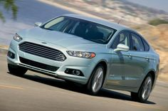 The 10 Most Fuel-Efficient Cars of 2014: #4: 2014 Ford Fusion Hybrid