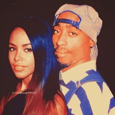 Tupac Shakur and Aaliyah
