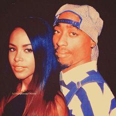 Tupac Shakur and Aaliyah