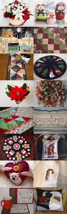 Your Holiday Home by arcadecache on Etsy--Pinned with TreasuryPin.com