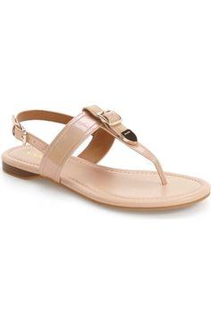 COACH 'Cassidy' T-Strap Sandal (Women). #coach #shoes #sandals