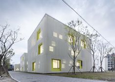 Qingpu Youth Centre by Atelier Deshaus - Dezeen