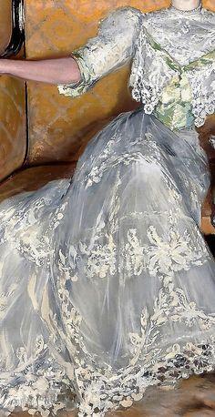 Portrait of a Lady by Julio Vila y Prades
