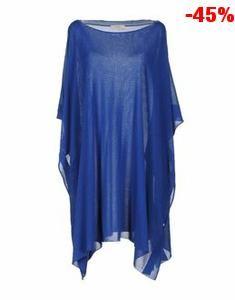 Offerta MANOSTORTI cappotti e impermeabili donna in sconto del 59% blu scuro a 49,00 euro
