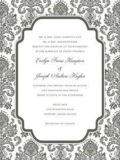 Wedding Invite Inspiration