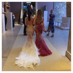 Kim Kardashian & Jennifer Lopez at the Met Gala