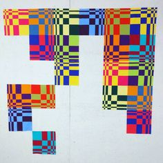 Some quilts shown here are for sale by the artists. I am not selling quilts and receive no financial. Modern Quilt Blocks, Quilt Block Patterns, Pattern Blocks, Cot Quilt, 3d Quilts, Optical Illusion Quilts, Quilt Modernen, English Paper Piecing, Bargello