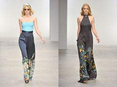 women look fashion week london