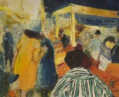gino boccaccio, the market. oil on canvas, 60.4 x 73 cm. shipley art gallery, uk http://www.bbc.co.uk/arts/yourpaintings/paintings/the-market-36072