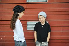Make your own comfy hat with this free slouchy beanie sewing pattern for babies, kids, and adults.