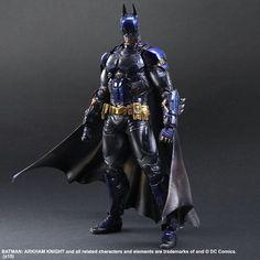 Arkham Knight figure colored 1