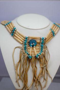 Cherokee Bone Choker | Traditional Cherokee Bone Choker | Authentic Native American Jewelry
