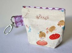 The Pleated Snappy Coin Purse!