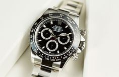BASEL BUILDUP: Will it happen again? Will Rolex put a ceramic bezel on an existing watch and break Baselworld? Rumours abound we may see just that on the 'Coke' GMT-Master II, which has been mocked up here by those resourceful Rolex rumourmongers at Monochrome. Though, for ours, a gradated green...