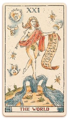 Tarot of Musterberg XXI The World