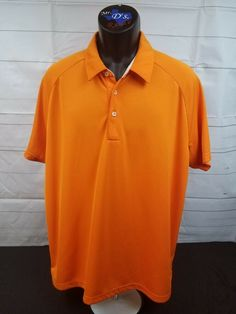 de950c60cc1 Puma Sport Lifestyle Mens Short Sleeve Polo Orange XL Logo Dry Cell  #fashion #clothing #shoes #accessories #mensclothing #shirts (ebay link)