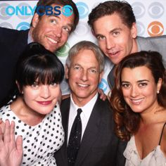 The cast of NCIS at the CBS Upfront presentation