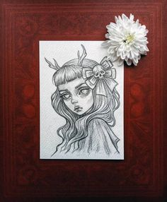 Original art in the format of a postcard in my Etsy shop https://www.etsy.com/shop/BlackFuryArt