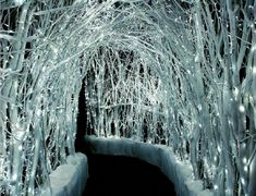 Winter White Lights- perfect for a close-to-christmas-wedding!