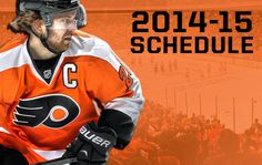 Flyers announce 2014-15 schedule