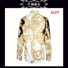 9fcaa33e52fbd Cheap Versace Shirts Long Sleeved In 113788 For Men