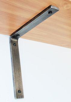 Retro Industrial Style Steel Shelf Bracket