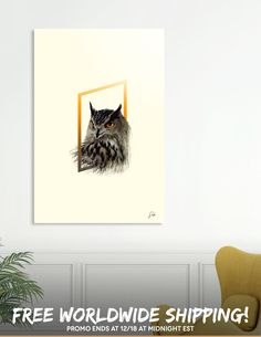 Discover «Great horned owl», Exclusive Edition Acrylic Glass Print by Sonda - From $69 - Curioos