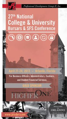 Bursars Conference Brochure by Justin Scholfield, via Behance
