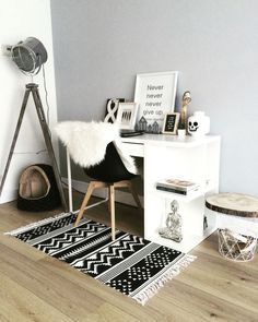 home office space, workspace, organized office, the blog bar