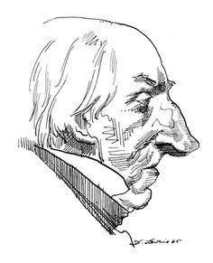 William Wordsworth  by David Levine