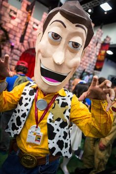 Woody Cosplay - #SDCC San Diego Comic Con 2014