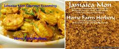 Jamaica Mon Gourmet Seasoning, Order now, FREE shipping  Jamaica Mon is a true Trinidad Curry powder blend created at Home Farm Herbery using our all natural chemical free herbs.    In Trinidad just about every possible food could be curried, everything from beef, chicken, eggplants, fish, goat, green tomatoes, lamb, mangos, okra, pork, potatoes, pumpkins and shrimp. This curried stew is typically served in a roti wrap. A Roti is thin flat bread that makes this look almost like a...