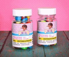 Doc McStuffins RX Medicine Bottle Tiny Treat Personalized Favor