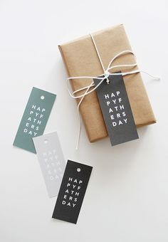 printable father's day gift tags printable gift tags handmade printable father's day gift tags - almost makes perfect Diy Father's Day Gifts, Father's Day Diy, Creative Gift Wrapping, Creative Gifts, Wrapping Gifts, Wrapping Ideas, Fathers Day Presents, Gifts For Dad, Diy Cadeau