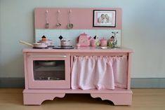 como hacer una cocinita para niñas
