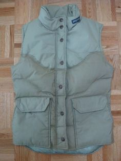 80s jansport puff vest for men