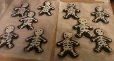 Skeleton Cookies!