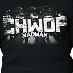 Motyw kibicowski na koszulce 'CHWDP' ---> Streetwear shop: odzież uliczna, kibicowska i patriotyczna / Przepnij Pina!