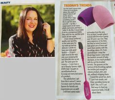 Triona McCarthy, Beauty Expert & Columnist explains why she loves the Beauty Spoon and Brush Egg in her Beauty page in today's Sunday Independent newspaper. You can purchase both online in our Secret Fashion Fixes Online store.