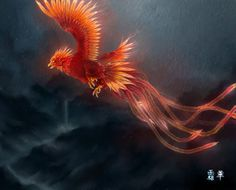 The Vermillion Bird of the South represents the element of fire and the season of summer.
