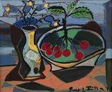 Zátiší s třešněmi by Emil Filla