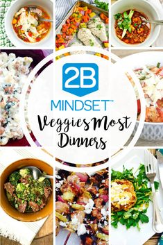 2B Mindset Veggies Most Dinner Ideas | Confessions of a Fit Foodie