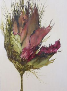 Encaustic art portfolio of Alicia Tormey Abstract Watercolor, Watercolor Flowers, Watercolor Paintings, Abstract Paintings, Art Paintings, Alcohol Ink Painting, Alcohol Ink Art, Encaustic Painting, Painting & Drawing